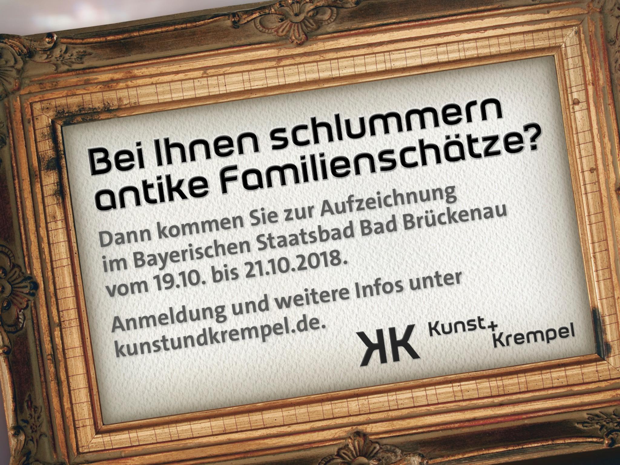 Die Sendung Kunst und Krempel kommt nach Bad Brückenau. Foto: BR