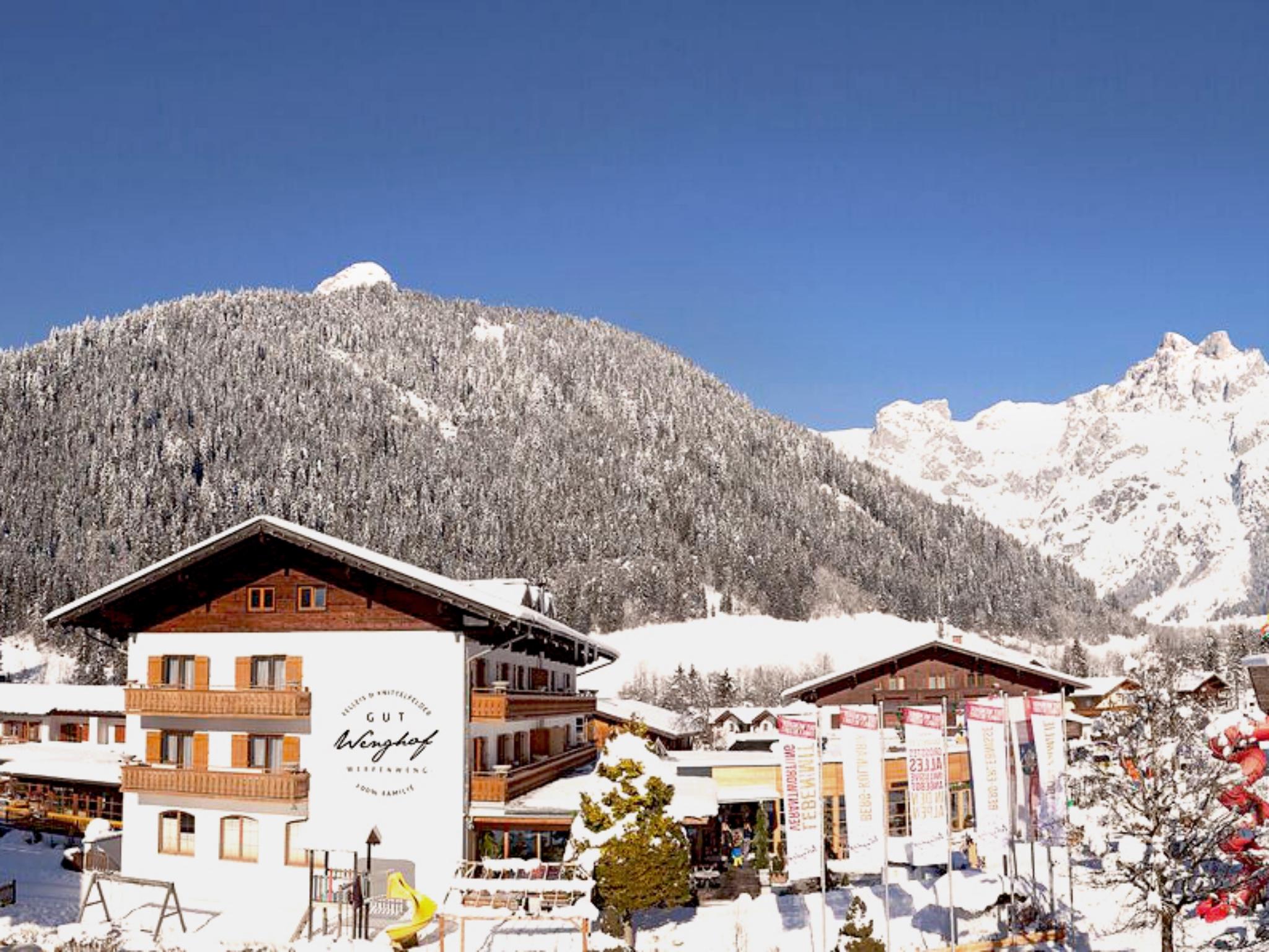 Das Gut Wenghof mit dem größten ALLES INKLUSIVE Angebot in den Alpen.