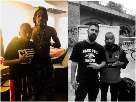 Der Schweinfurter Rapper Joe Young hat schon mit Wiz Khalifa und Bushido zusammengearbeitet. Foto: Tyrone Clay