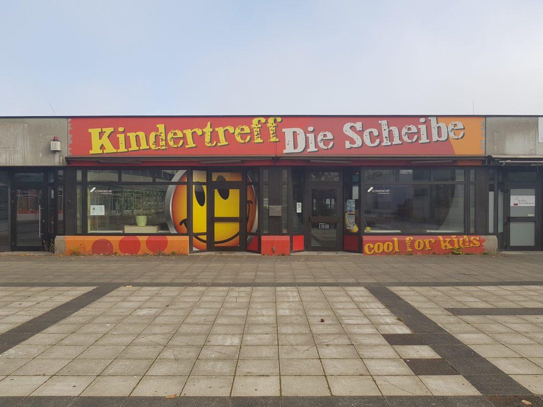 """Kinder- und Jugendtreff """"Die Scheibe"""" am Bergl. Foto: Dirk Flieger"""