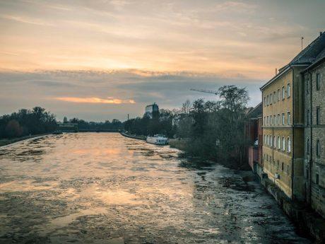 Schweinfurt im Winter. Foto: Dominik Ziegler
