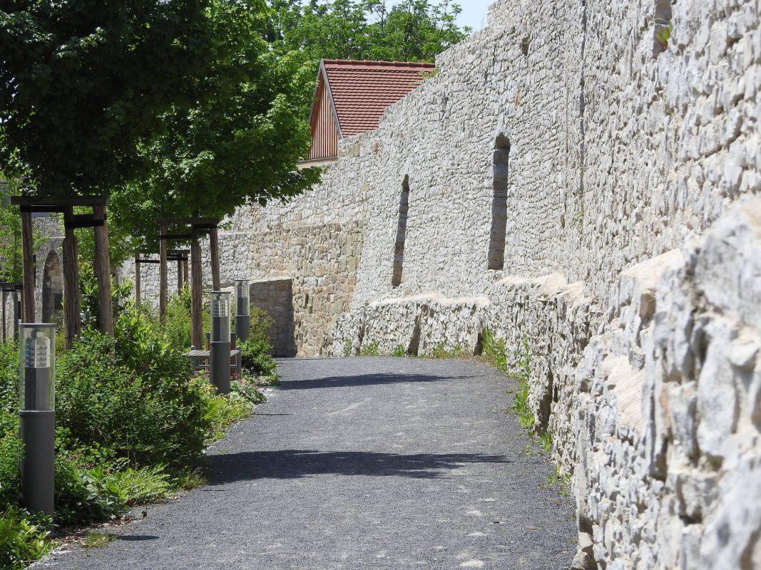 Stadtmauer in Schweinfurt. Foto: Dirk Flieger