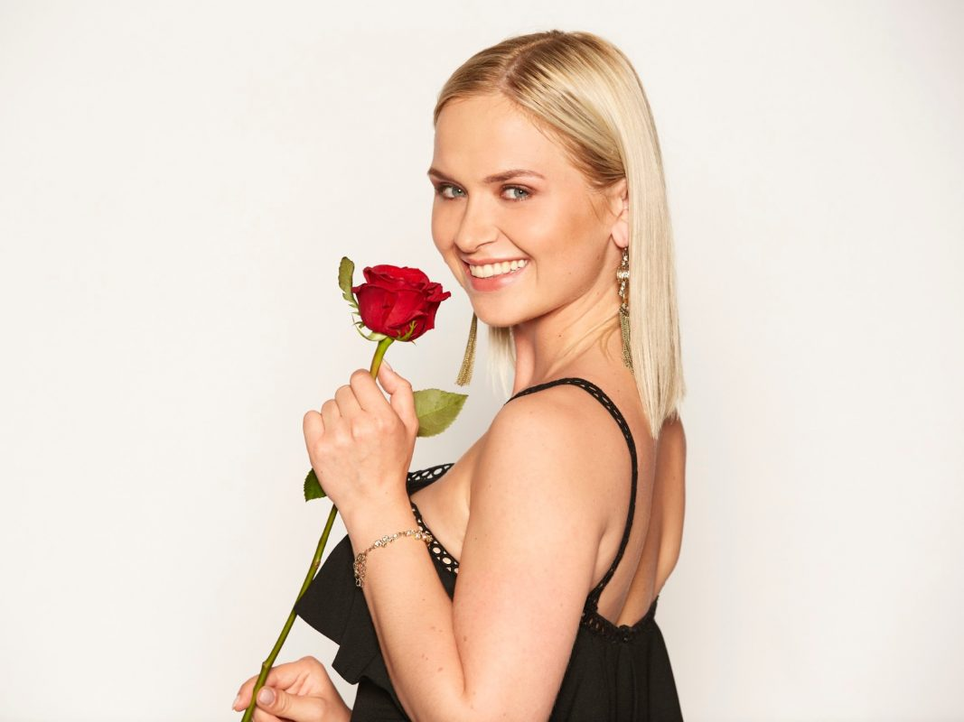 """Bachelor-Kandidatin Karin aus Schweinfurt. I Alle Episoden von """"Der Bachelor"""" bei TVNOW: www.tvnow.de"""". Foto: MG RTL D"""