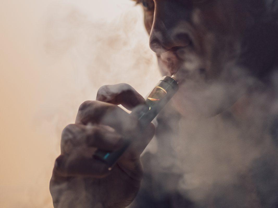E-Zigarette. Symbolfoto: Pascal Höfig