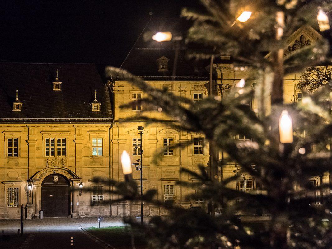 Rund 230 Gefangene verbringen Weihnachten in der JVA Ebrach. Foto: Pascal Höfig