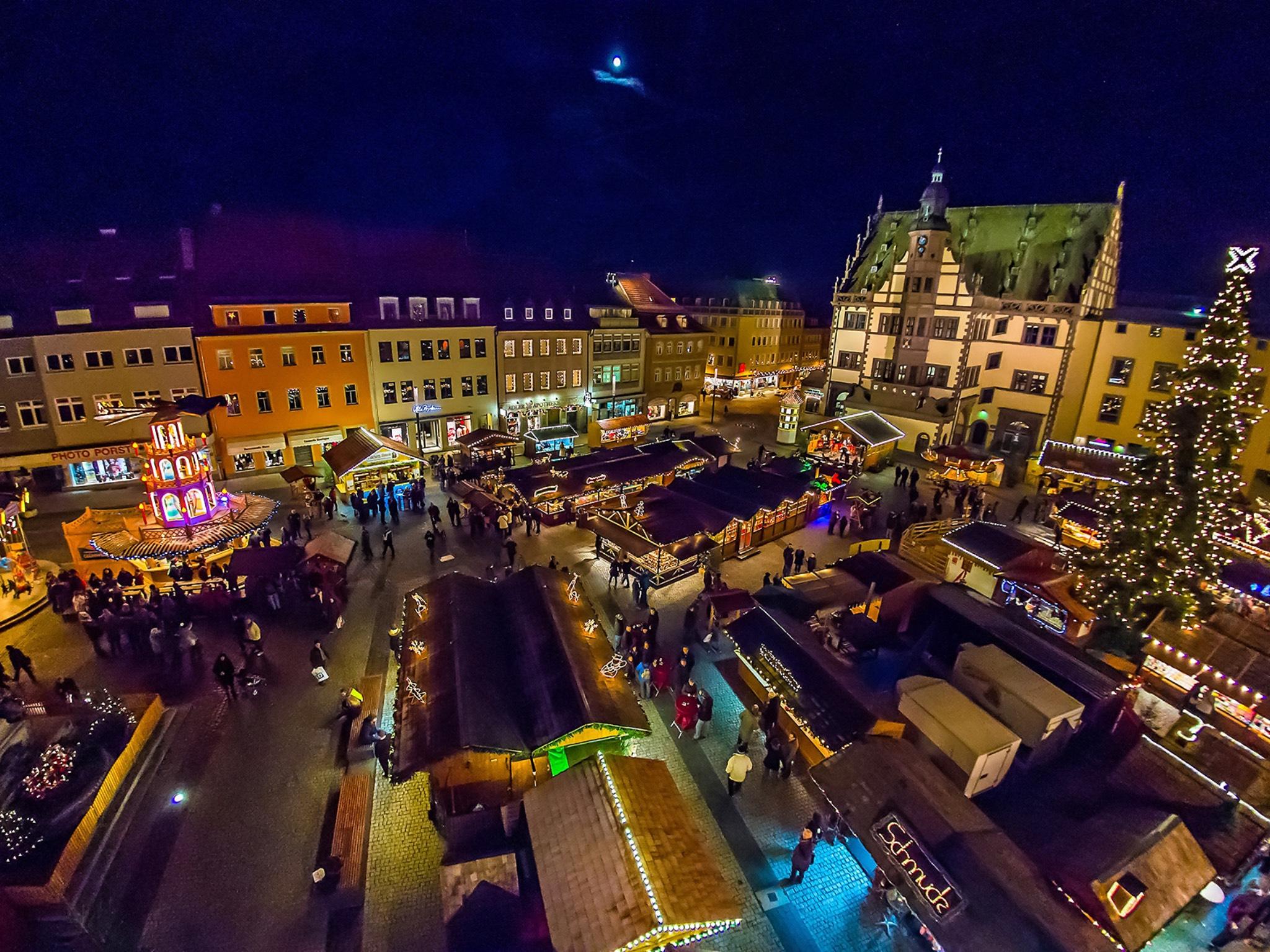 Schweinfurter Weihnachtsmarkt. Foto: Anand Anders
