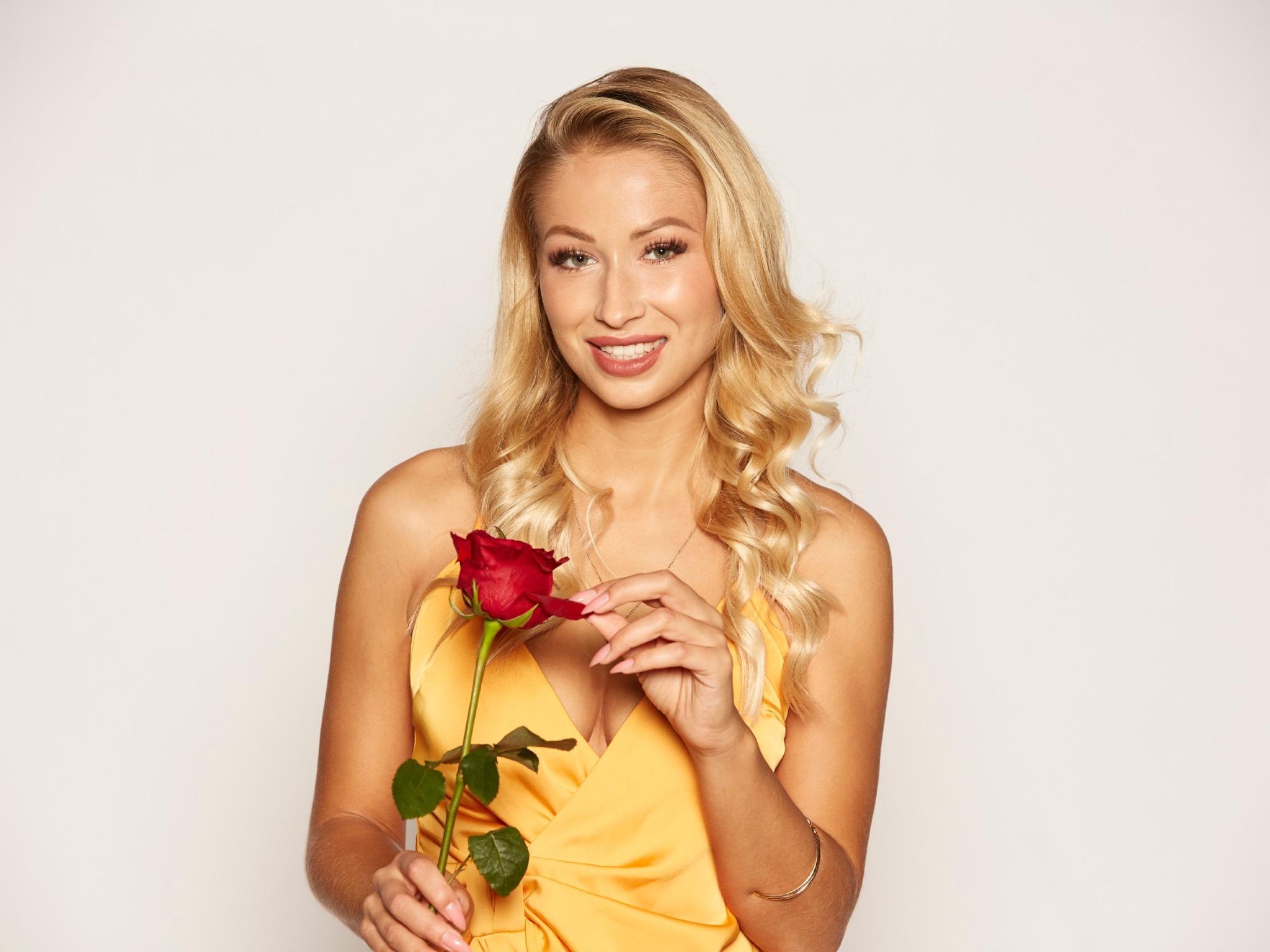 """Luisa aus Franken. Alle Episoden von """"Der Bachelor"""" bei TVNOW: www.tvnow.de Foto: MG RTL D"""