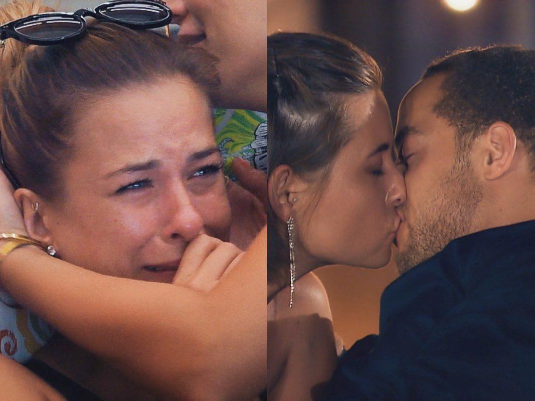 """Nadine ist verzweifelt. Zwischen Jennifer und Andrej stimmt die Chemie. Es kommt zum ersten Kuss. """"Alle Episoden von """"Der Bachelor"""" bei TVNOW: www.tvnow.de"""". Foto: MG RTL D"""