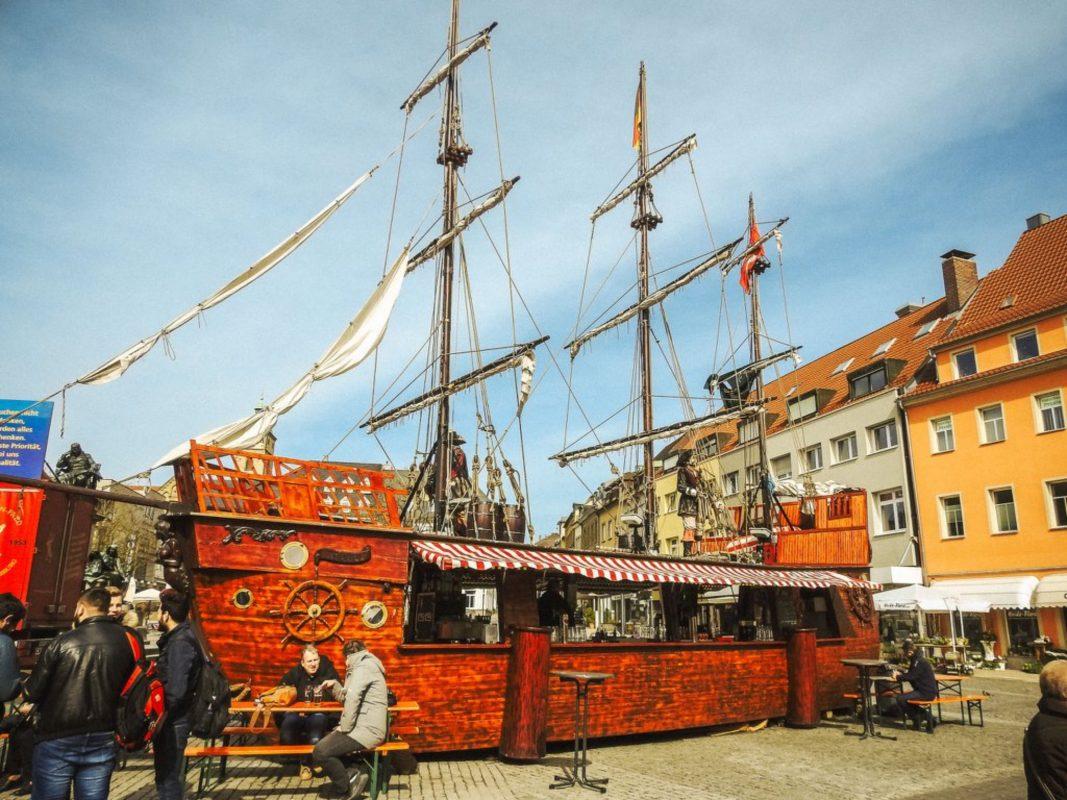 Der Fischmark 2018 in Schweinfurt. Foto: Dirk Flieger
