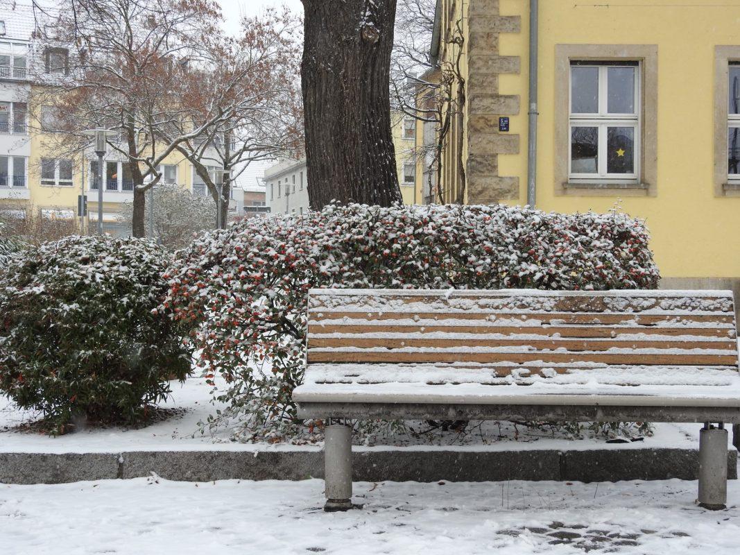 Schweinfurt im Winter. Foto: Dirk Flieger