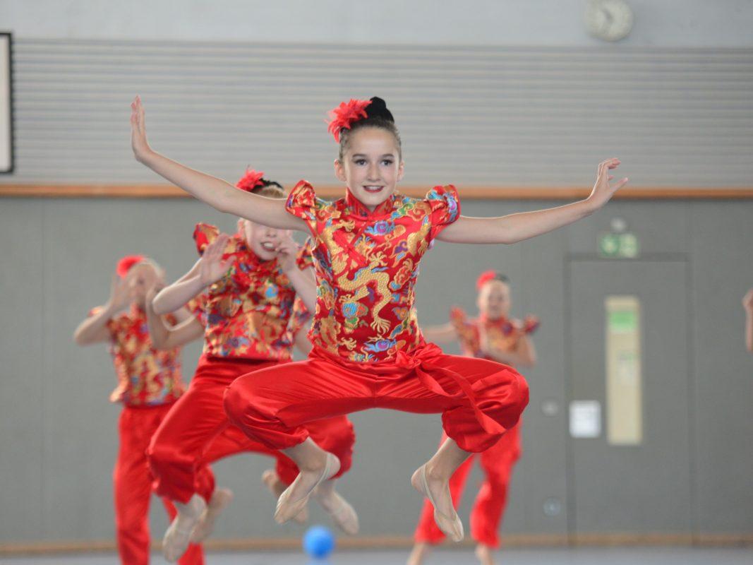 Die eigene Tanzbietung vorstellen: Beim Turnfest geht's! Foto: Landesturnfest