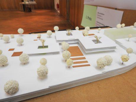 Das Gewinnermodell für die Schule im Stadtteil Bellevue. Foto: Dirk Flieger