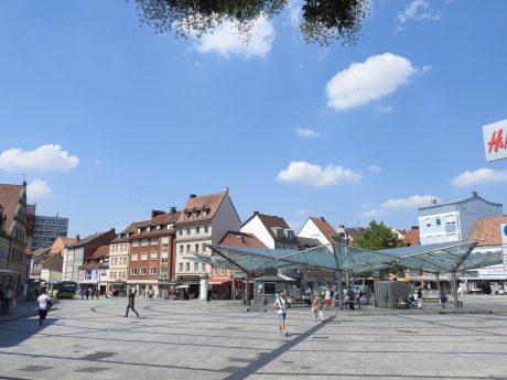 Der Roßmarkt. Foto: Dirk Flieger
