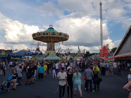 Das Schweinfurter Volksfest 2018. Foto: Dirk Flieger