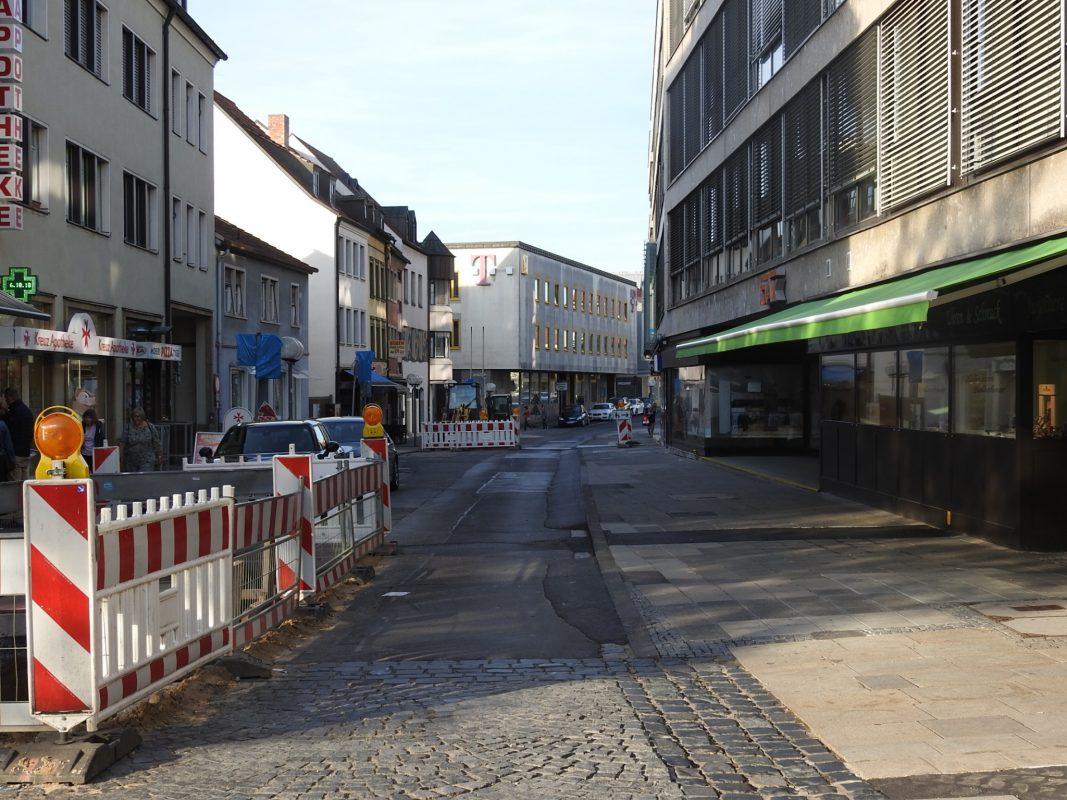 Die Zehntstraße. Foto: Dirk Flieger