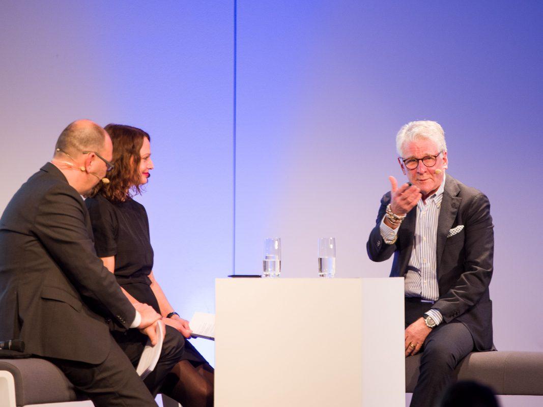 Ehrengast dieses Jahr war Kult-Sportjournalist Marcel Reif. Foto: Pascal Höfig