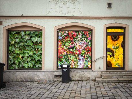 So könnten die Leerstände im Stadtgebiet bald aussehen. Foto: Dirk Flieger/Fotomontage: Dominik Ziegler