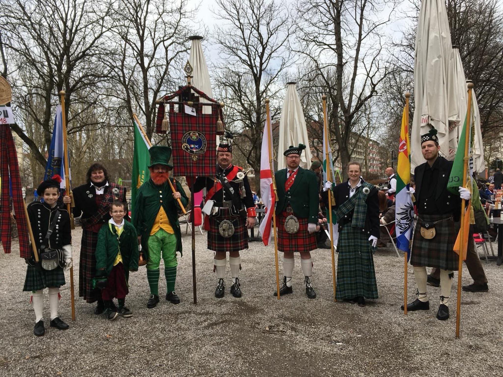 Regelmäßig besucht der Verein aus dem Landkreis Schweinfurt befreundete Clans. Foto: Clan McEL.