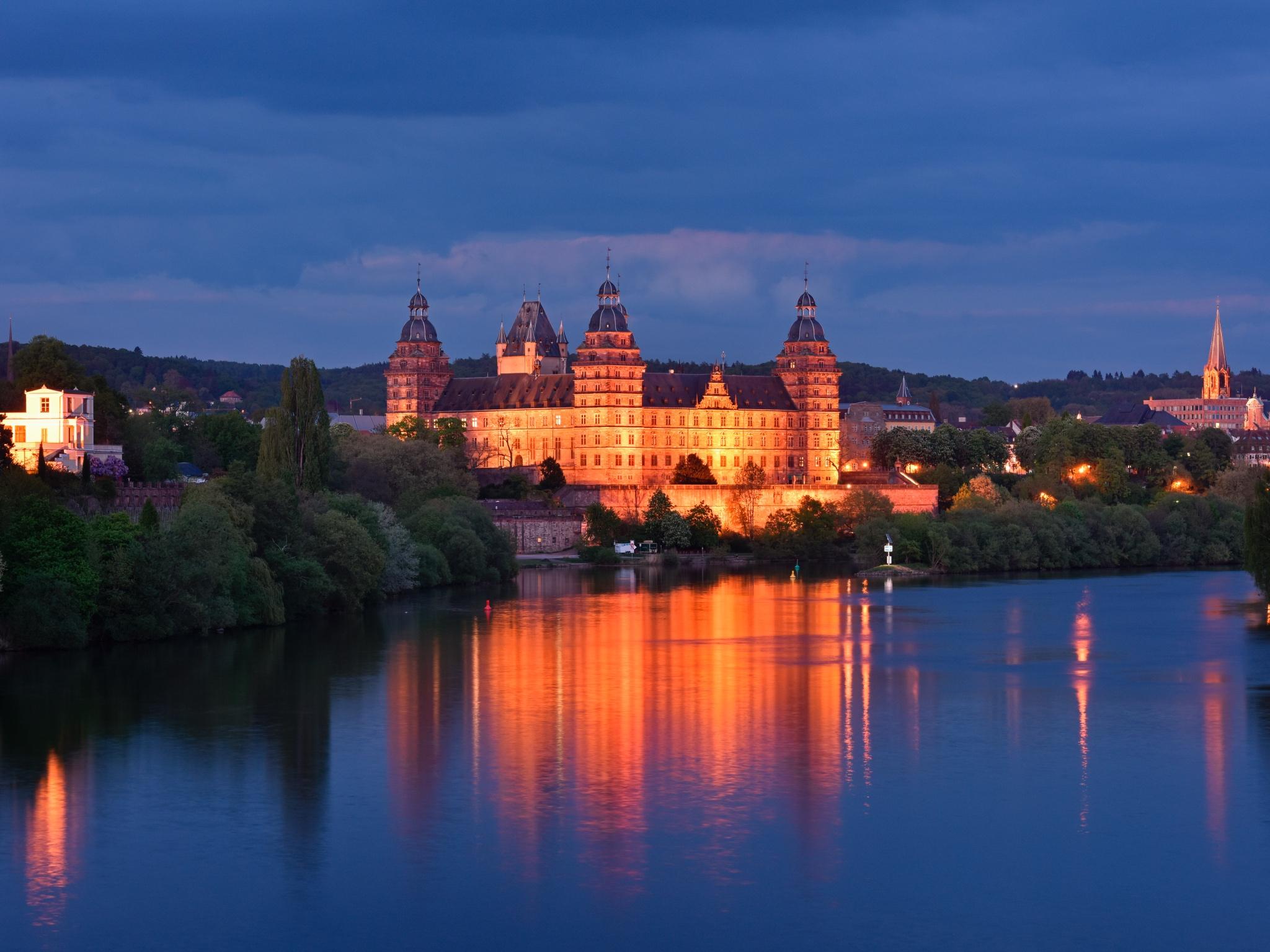 Das Schloss Johannisburg in Aschaffenburg. Foto: Florian Dümig