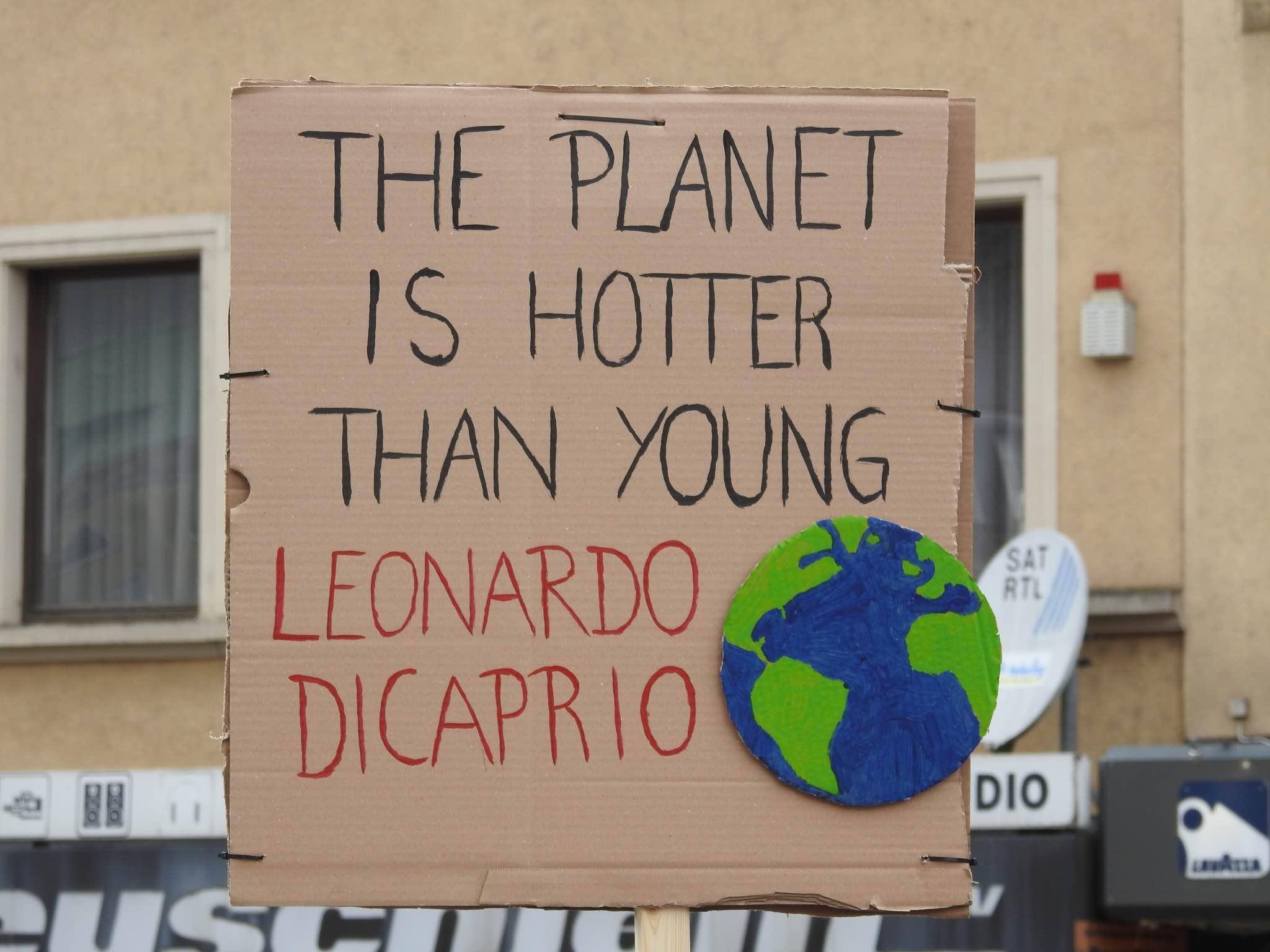 Seit Monaten streiken Schüler auf der ganzen Welt gegen die Klimapolitik. Am 22. Februar wurde das erste Mal in Schweinfurt gestreikt. Foto: Dirk Flieger.