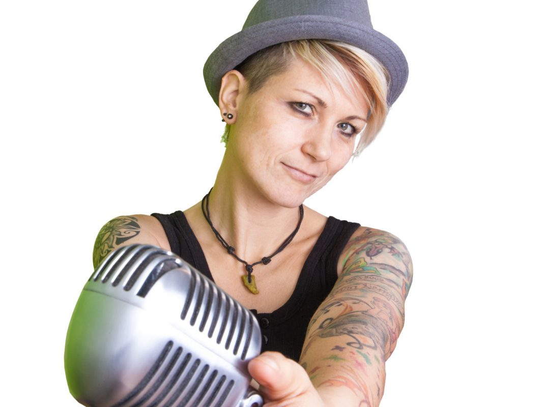 Sängerin Steffi List hat den Turnfest-Song komponiert. Foto: Hendrik Holnäck