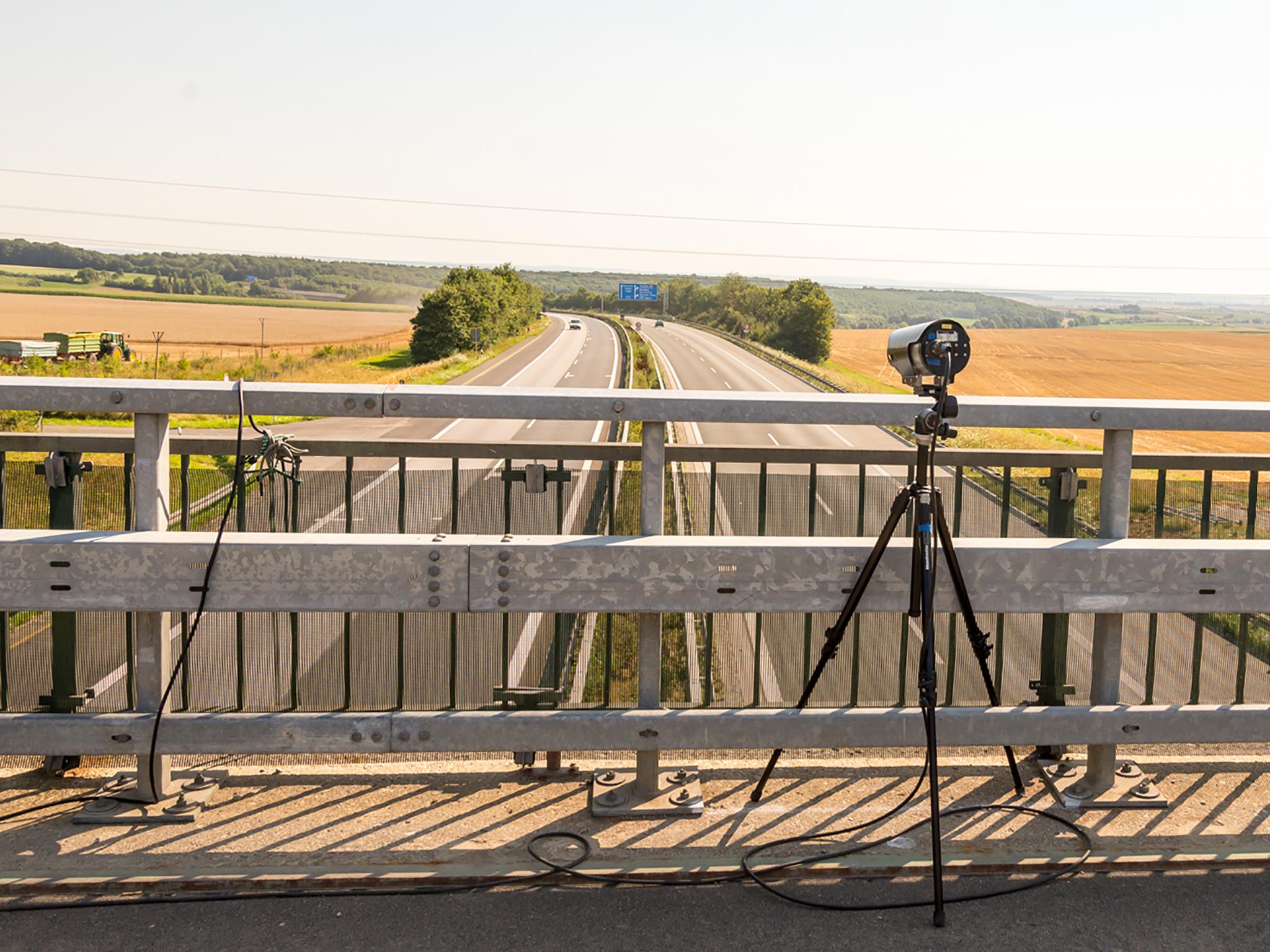Video Abstands- und Geschwindigkeitsmessung Digital. Foto: Pascal Höfig