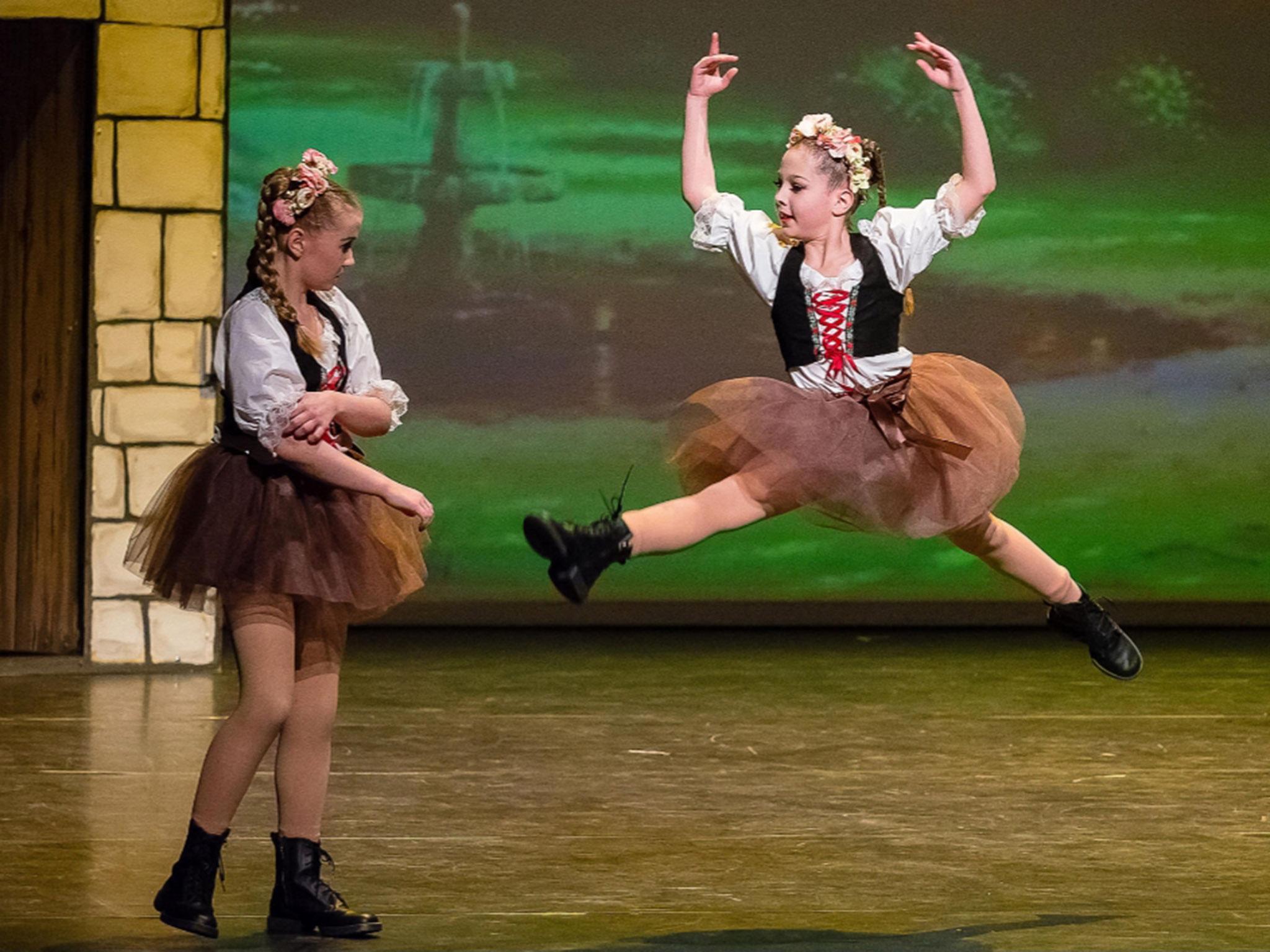 Schon seit 5 Jahren tanzt die Neunjährige in der Schweinfurter Dance Academy. Foto: Olga Held.