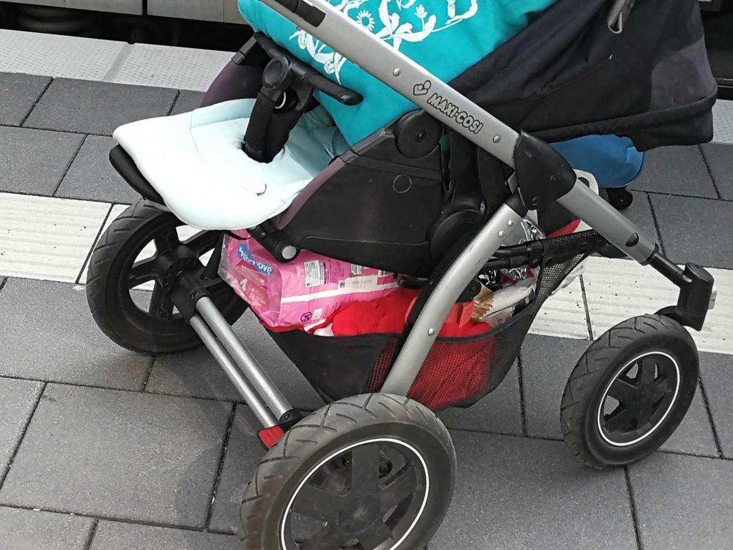 Kinderwagen Symbolfoto: Inka