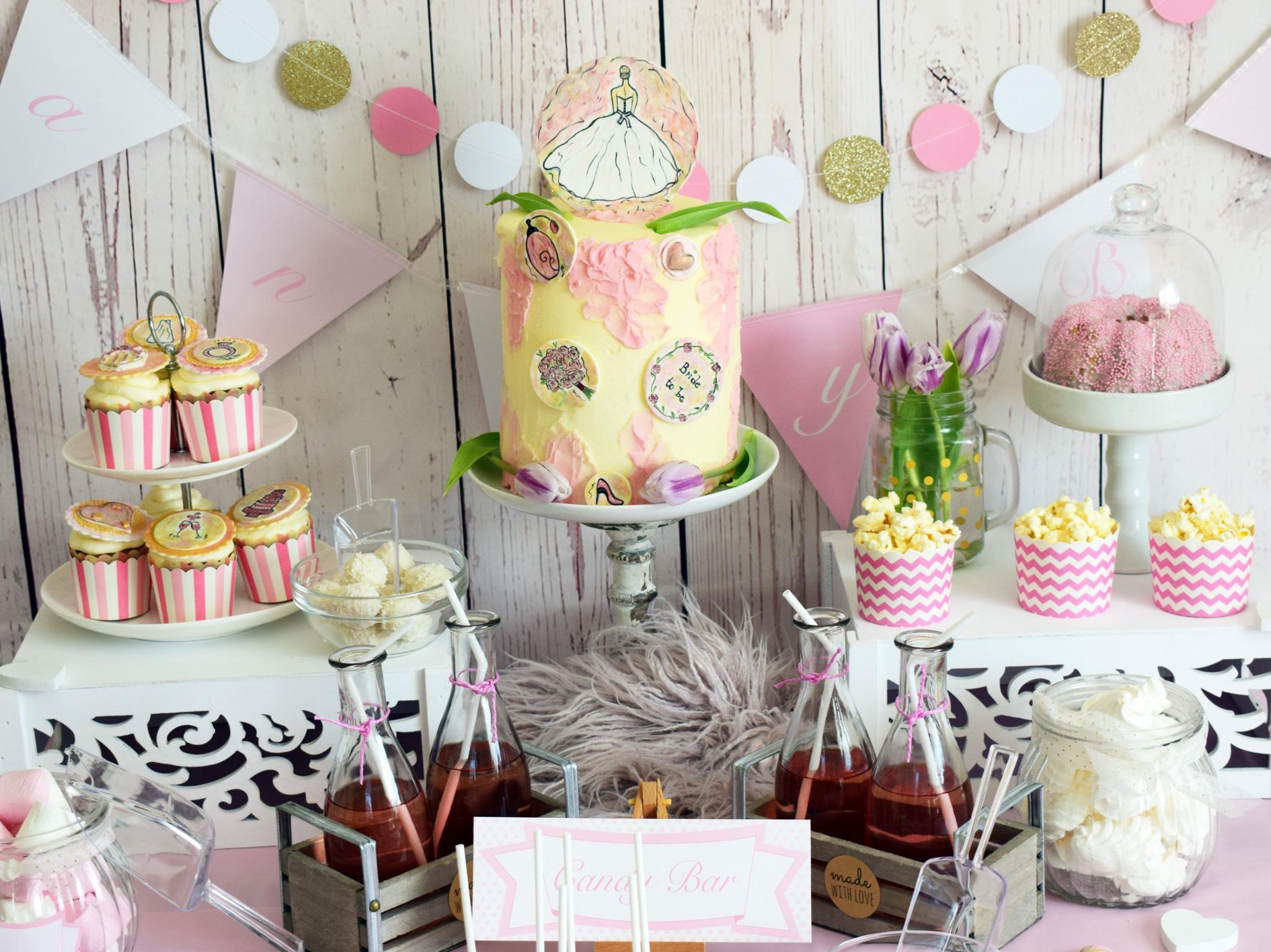Aufwendig gestaltet sie auch Candybars. Foto: Anita Heilmann