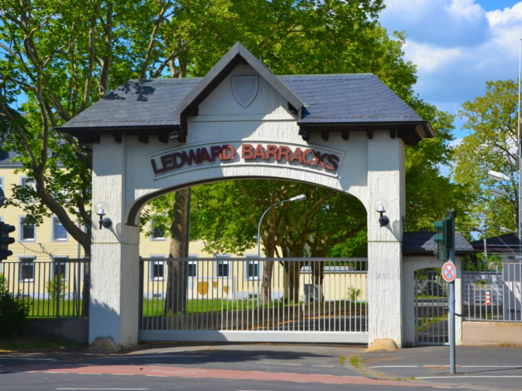 Ledward Barracks in Schweinfurt. Foto: Schweinfurt City
