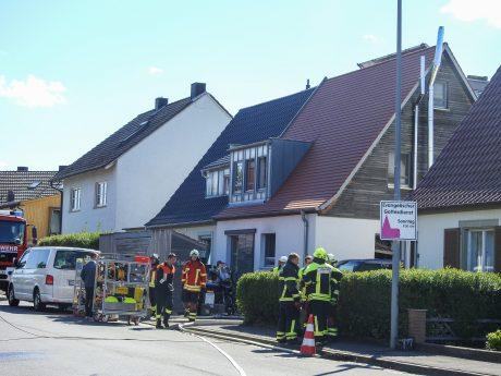 Am Dienstagmorgen hat die Polizei in einem Wohnhaus die beiden Leichen eines getrennt lebenden Ehepaares aufgefunden. Foto: Dirk Flieger