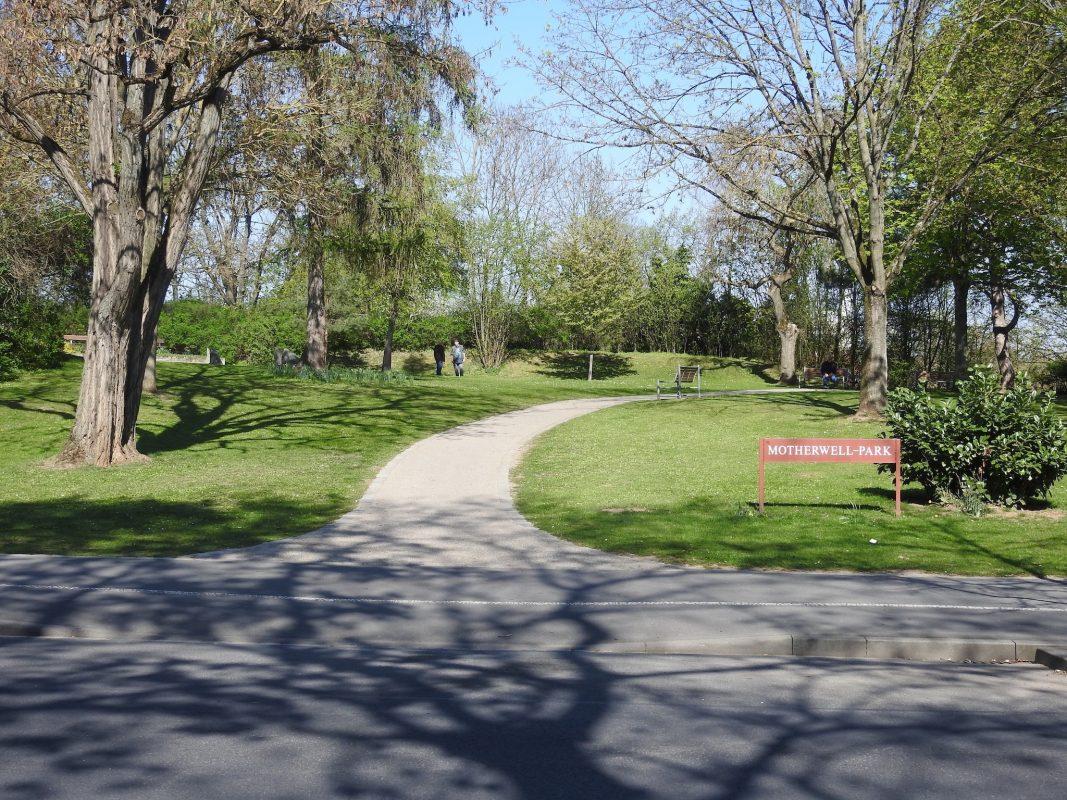 Motherwell-Park in Schweinfurt. Foto: Dirk Flieger