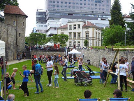 Das Landesturnfest 2019 in Schweinfurt. Foto: Dirk Flieger