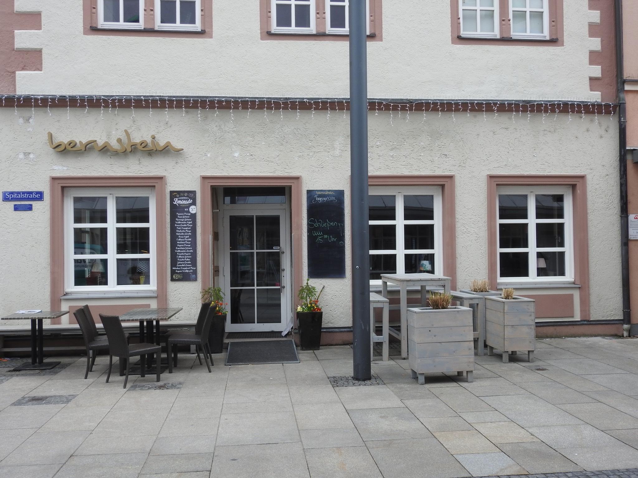 Ehemaliges Café Bernstein in der Spitalstraße. Foto: Dirk Flieger