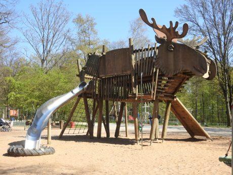 Spielplatz im Wildpark an den Eichen. Foto: Dirk Flieger