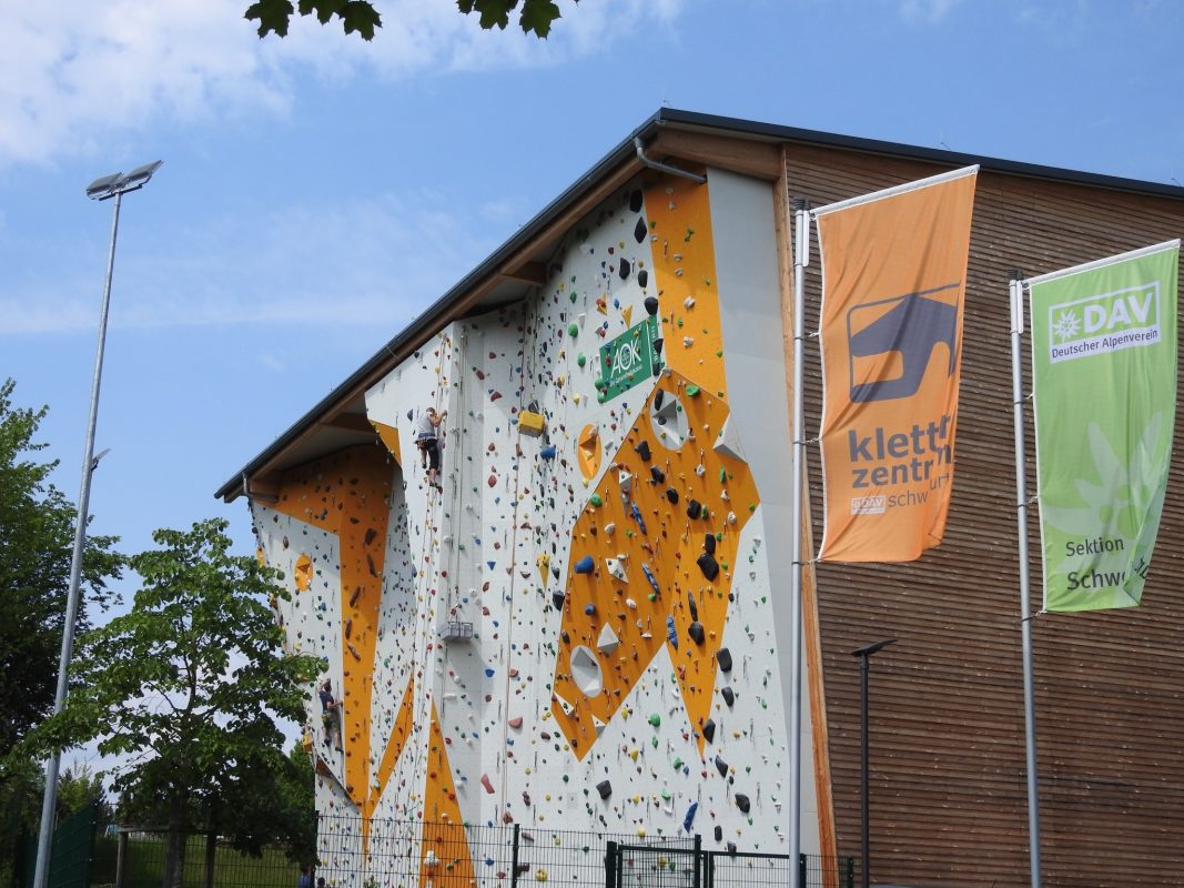 Kletterzentrum des Deutschen Alpenvereins. Foto: Dirk Flieger