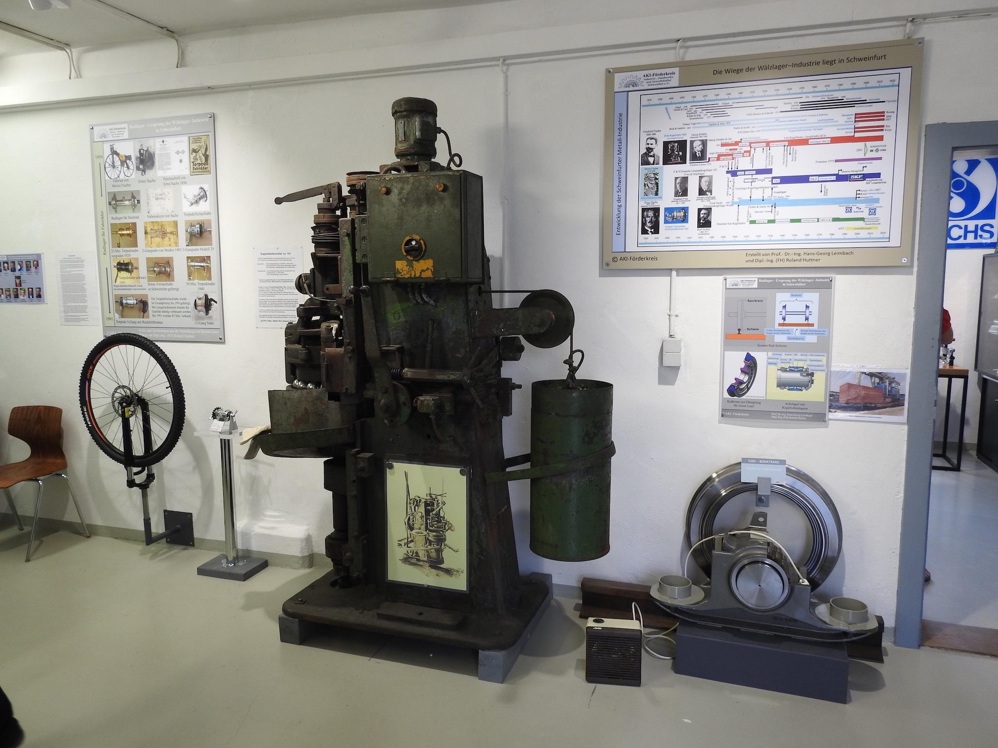 Das kleine Industriemuseum. Foto: Dirk Flieger