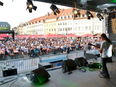 Stadtfestbühne am Marktplatz. Foto: Agentur L19