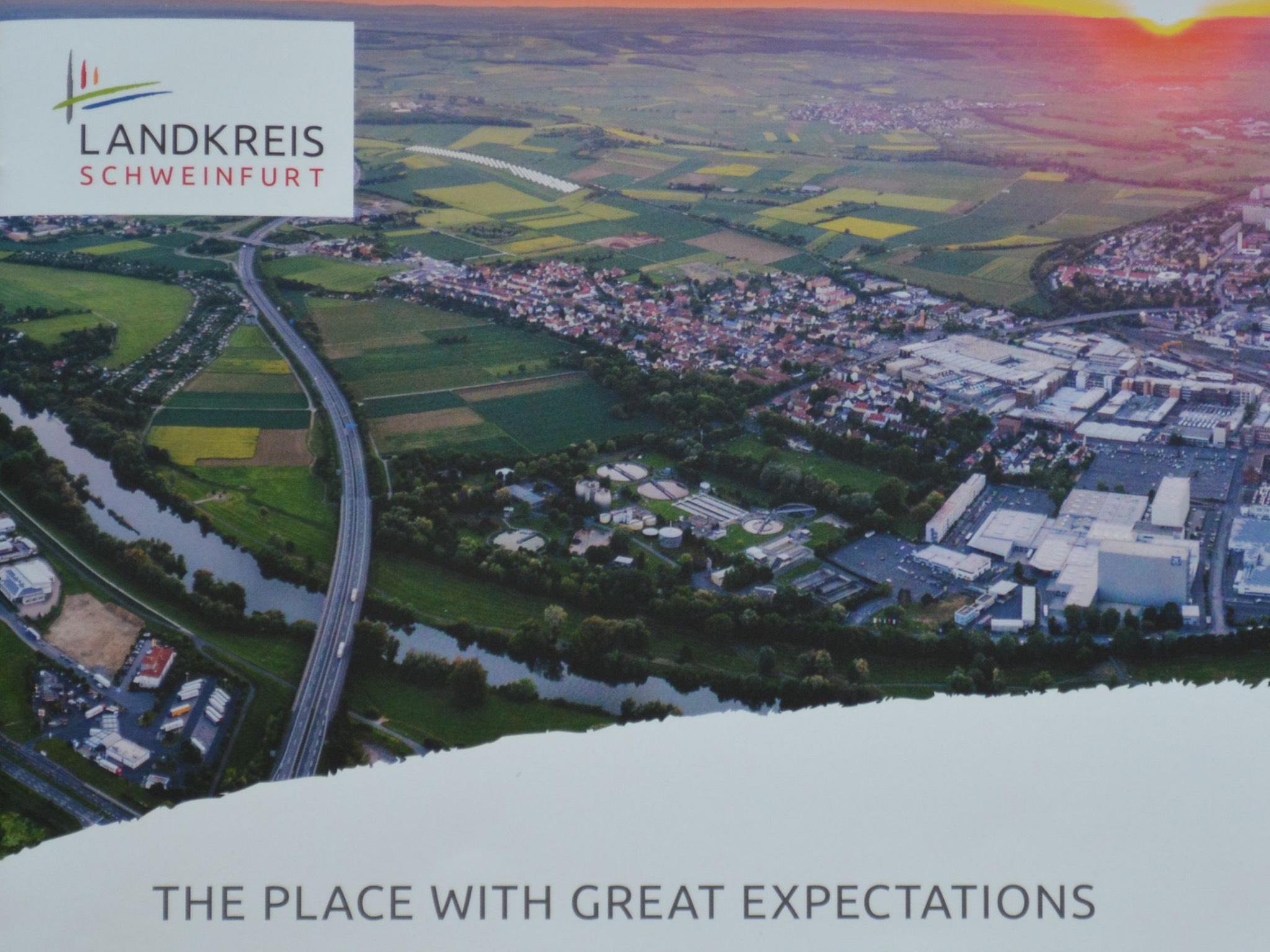 Der Standort mit den besten Aussichten. Foto: Landratsamt Schweinfurt