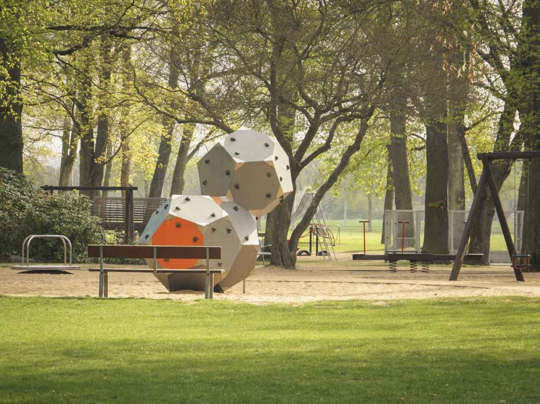 Kinderspielplatz an den Wehranlagen. Foto: Dominik Ziegler