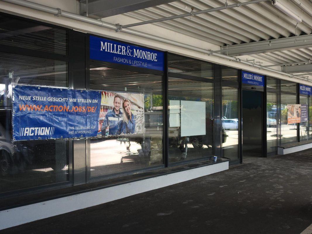 In der Oskar-von-Miller Straße wird es bald einen Action-Markt geben. Foto: Dirk Flieger