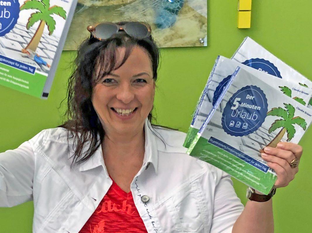 Claudia Graser hat dieses Jahr ein Buch über Selbsthypnose veröffentlicht. Foto: Claudia Graser