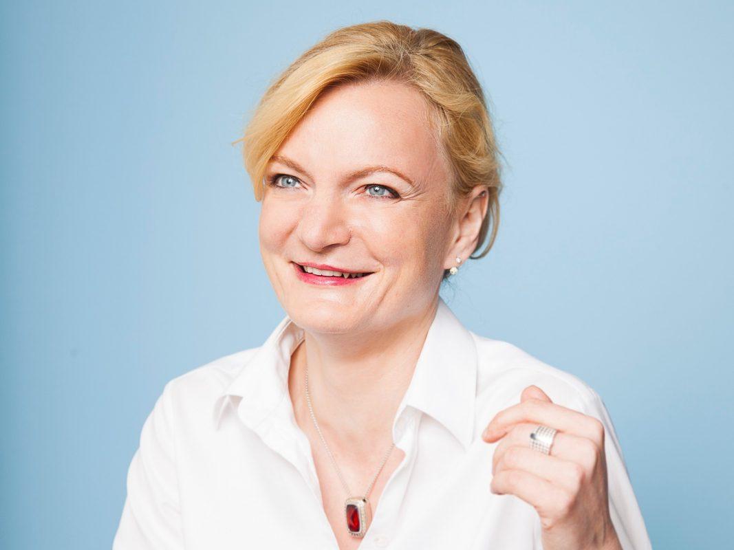 Marietta Eder (SPD) will Oberbürgermeisterin von Schweinfurt werden. Foto: Susi Knoll
