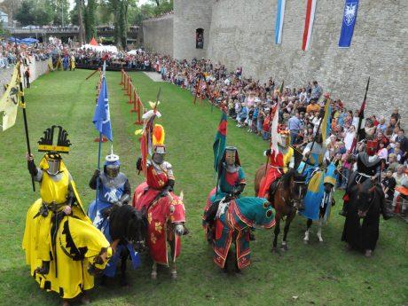 Am 14. und 15. September findet in diesem Jahr erneut das Mittelalterfest an der alten Stadtmauer statt. Foto: Lazlo Ruppert
