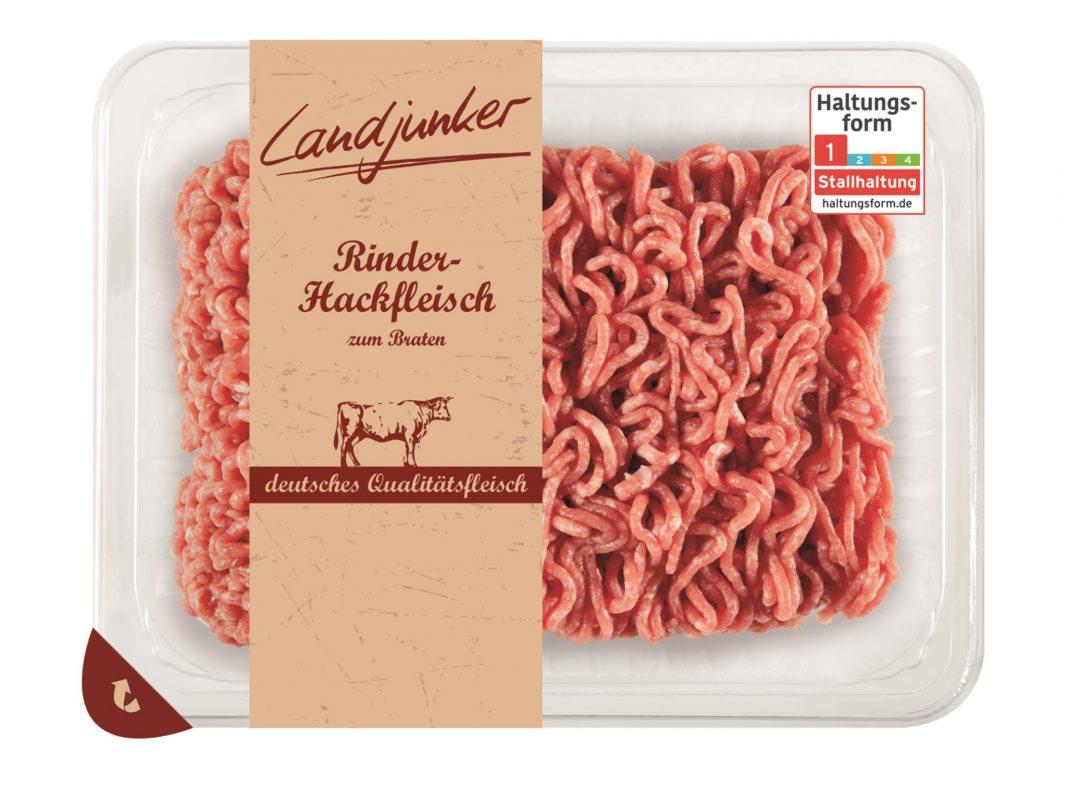 """Warenrückruf des Produkts """"Landjunker Rinderhackfleisch, 500g"""". Foto: obs/Lidl/SB-Convenience GmbH"""