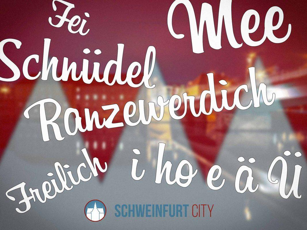 Eure besten fränkischen Wörter. Foto: Dominik Ziegler