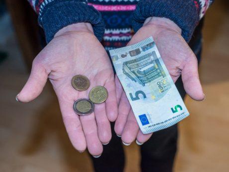 Wenig Geld. Symbolbild: Pascal Höfig