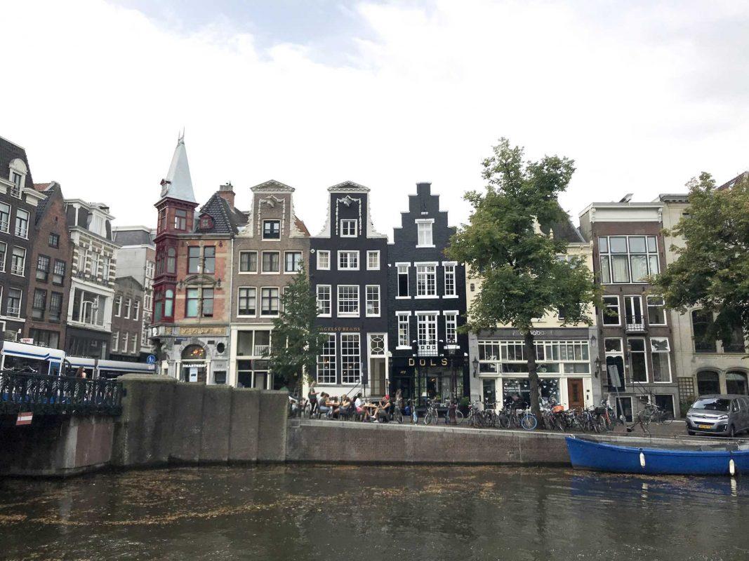 Der weltberühmte Grachtengürtel in Amsterdam. Foto: Nina Härtle