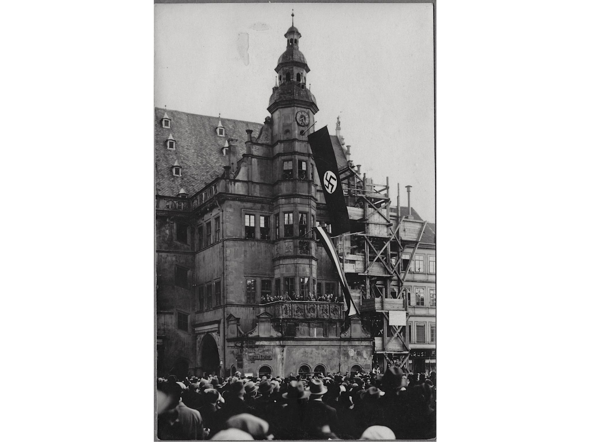 Schweinfurt zur Zeit der Nationalsozialisten. Archiv: Peter Hofmann