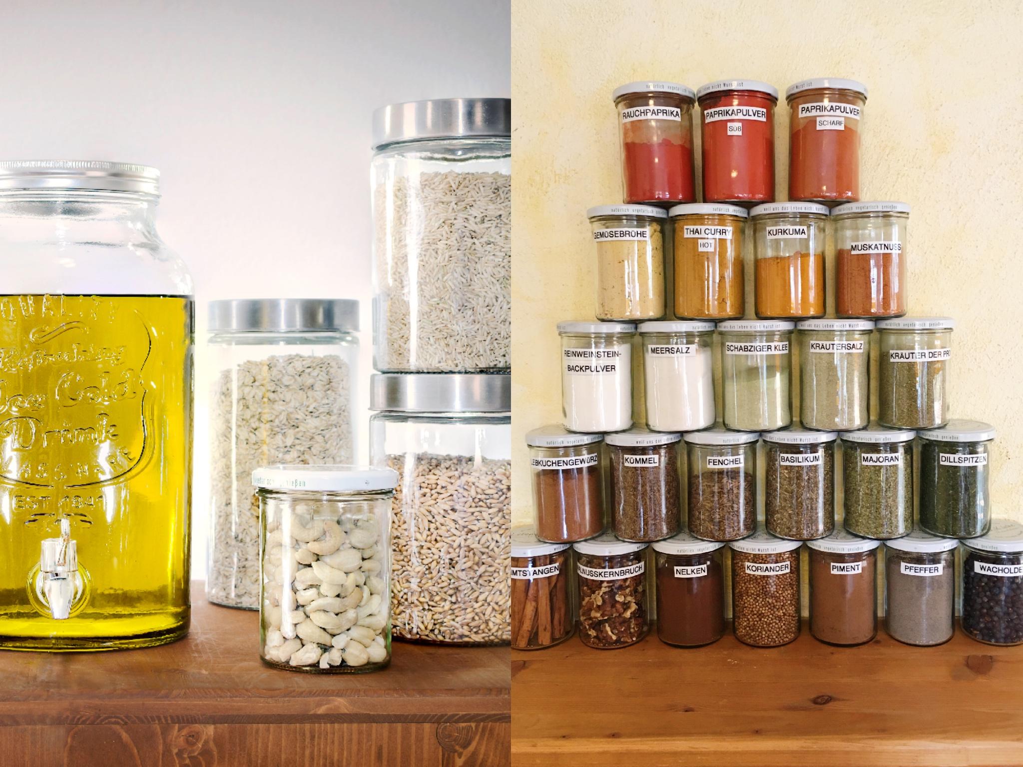 Nicht nur Öl, Reis und Co. können selbst abgefüllt werden - auch Gewürze bietet die Lebensküche ohne Verpackung an. Foto: Lebensküche e.V.